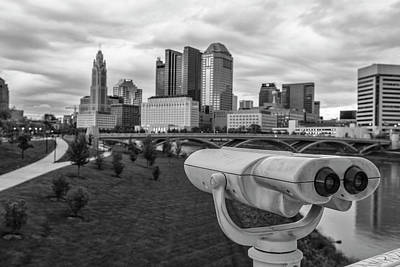 Photograph - Watching Columbus Ohio by John McGraw