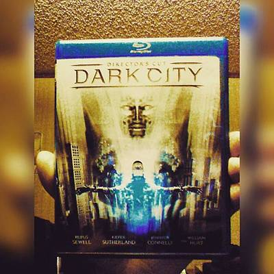 Sciencefiction Photograph - Watching dark City Director's Cut by XPUNKWOLFMANX Jeff Padget