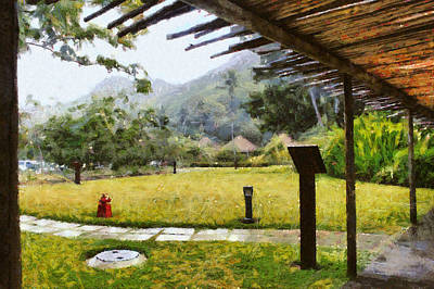 Reptiles - Watching it rain by Ashish Agarwal