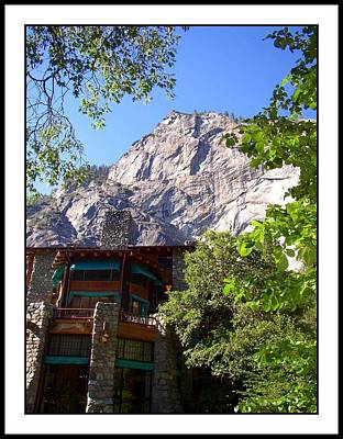 Photograph - Watching Over Ahwanee...yosemite by Glenn McCarthy Art and Photography