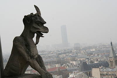 Photograph - Watching Over The City by Aggy Duveen