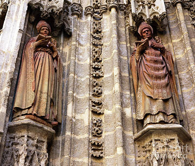 Photograph - Watching Over The Parroquia Del Sagrario by John Rizzuto