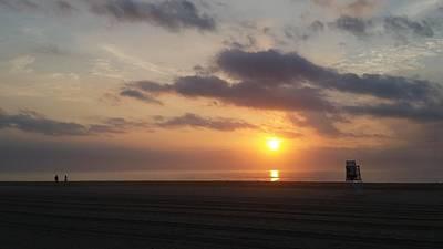 Photograph - Watching Sunrise by Robert Banach