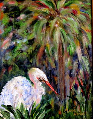 Watching The Marsh Art Print by Marie Howell
