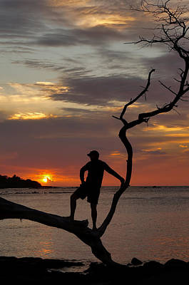 Photograph - Watching The Sunset Island Style by Pamela Walton