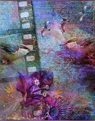 Digital Art - Watching The Wild World by Linda Carruth