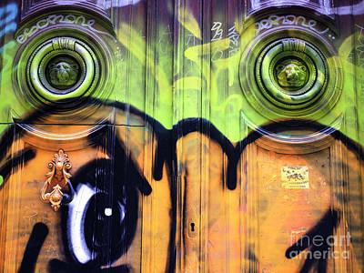 Photograph - Watching You In Barcelona by John Rizzuto