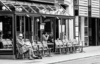 Photograph - Watching You In Paris by John Rizzuto