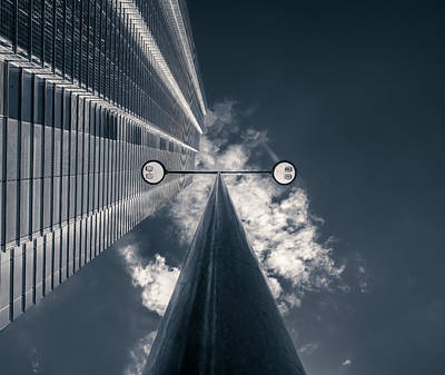 City Of London Photograph - Watching You by Nico T