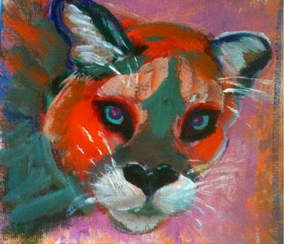 Painting - Watching You by Sally Fraser