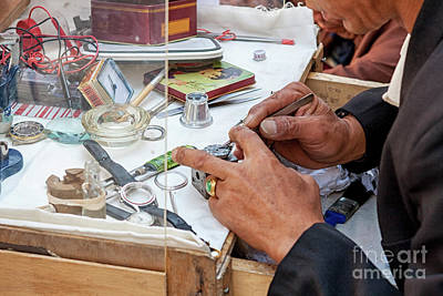 Photograph - Watchmaker  by Patricia Hofmeester