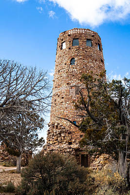 Photograph - Watchtower by Ed Gleichman