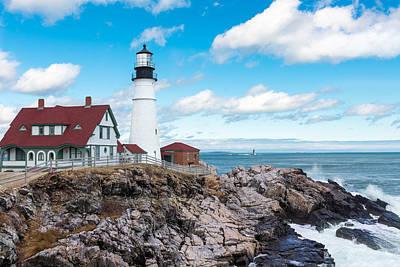 D700 Photograph - Lighthouse by Mauricio Fernandez