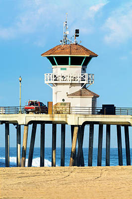 Photograph - Watchtower On Pier by Joe Belanger