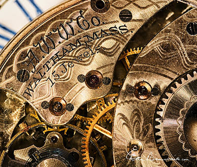 Photograph - Watchworks 4234 by Dan Beauvais
