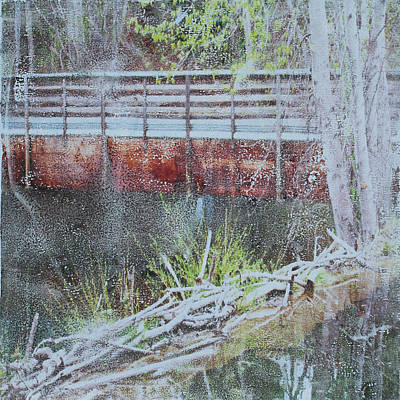 Mixed Media - Water #5 by Dawn Boswell Burke