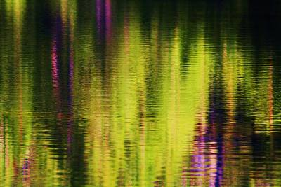 Water Abstract 3 Art Print by Russell  Barton