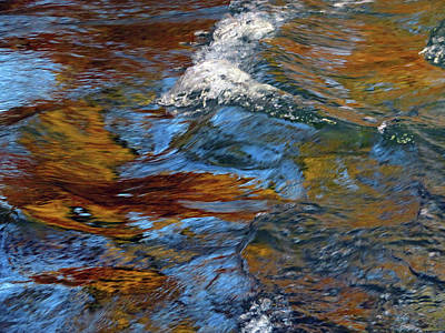 Photograph - Water - Abstract by Marie Jamieson