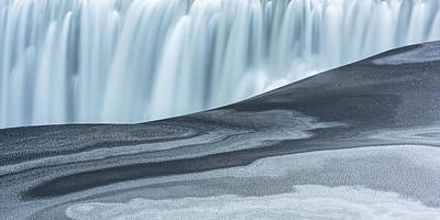Dettifoss Photograph - Water And Ash by Dustin LeFevre