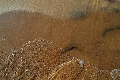 Photograph - Water And Sand  by Lyle Crump