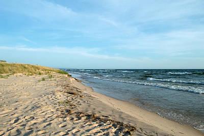 Zen Garden - Water and the Beach by Linda Kerkau