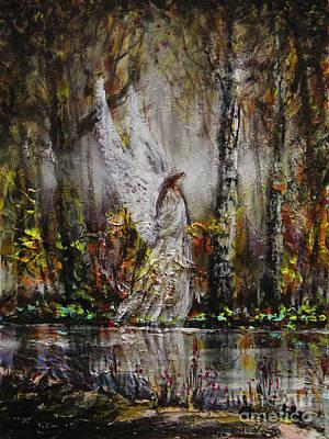 Painting - Lake Angel by Dariusz Orszulik