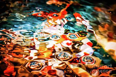 Photograph - Water Art 2 by Gerald Kloss