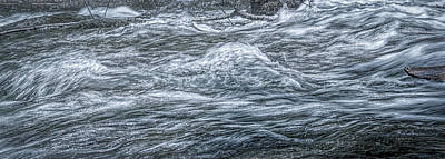 Photograph - Water Art 20 by Bill Posner