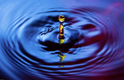 Photograph - Water Art  by Manjot Singh Sachdeva