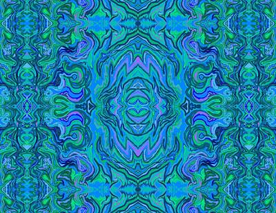 Digital Art - Water Art Pattern  by Julia Woodman