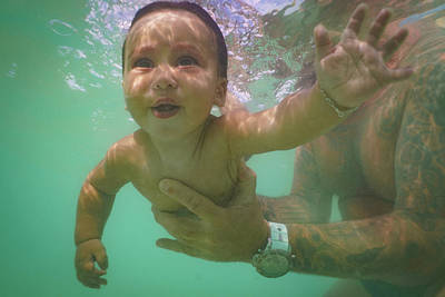 Photograph - Water Baby #3 by Mark Robert Rogers
