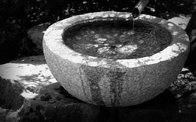 Photograph - Water Basin by Joseph Skompski