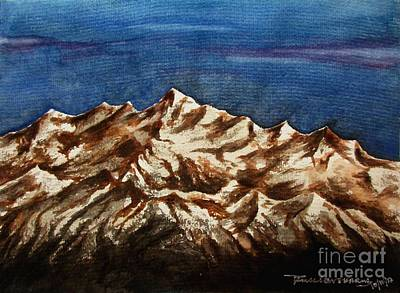 Painting - Mountain-6 by Tamal Sen Sharma