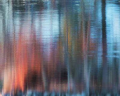 Photograph - Water Color Abstract by Bill Wakeley