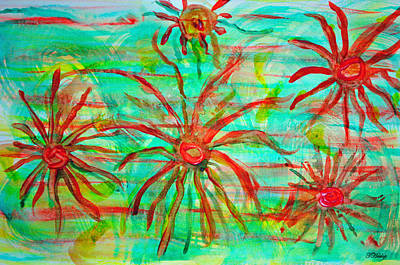 Photograph - Water Spiders by Tikvah's Hope