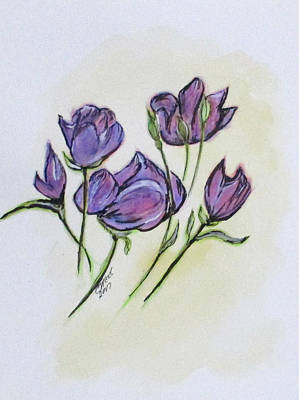 Painting - Water Color Pencil Exercise by Clyde J Kell