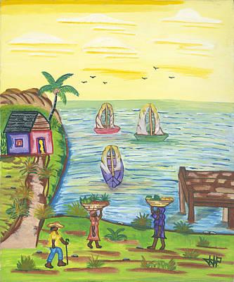Water Community Original by John Paul Joseph