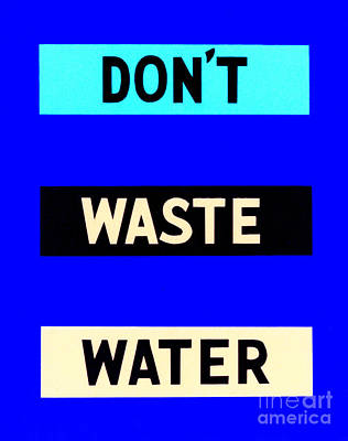 Photograph - Water Conservation Fap Poster by Science Source