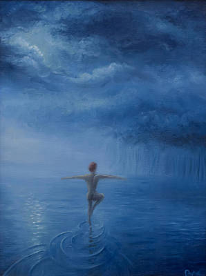 Painting - Water Dance by Brian Nunes