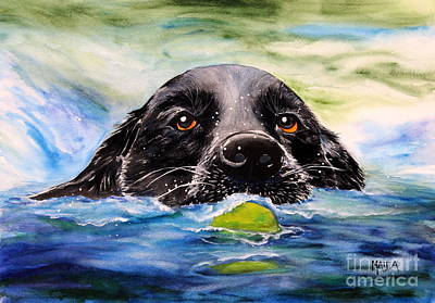 Painting - Water Dog by Sheila Maida