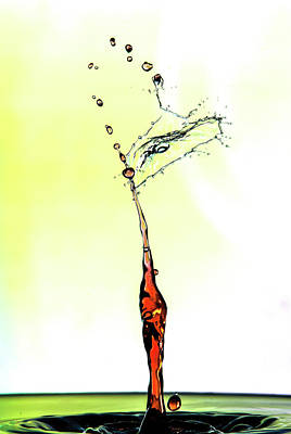Water Drop #6 Art Print