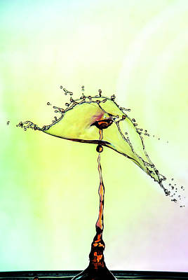 Photograph - Water Drop #7 by Marinus Ortelee