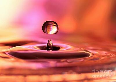 Photograph - Water Drop by Sabrina L Ryan