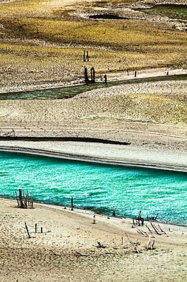 Water Edge 5 Art Print by Emilio Lovisa