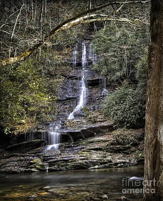 Photograph - Water Fall 1 by Walt Foegelle