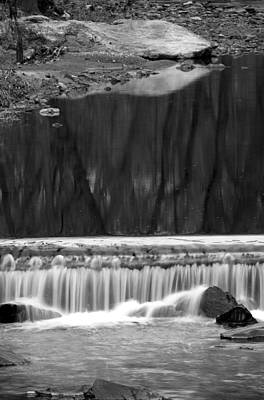 Photograph - Water Fall And Reflexions by Dorin Adrian Berbier