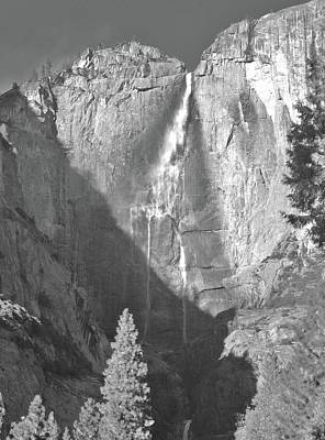 Yosemite National Park Digital Art - Water Fallin' by Joshua Sunday
