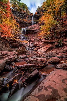 Photograph - Water Falls  by Anthony Fields