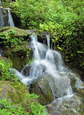 Photograph - Water Falls by D Hackett