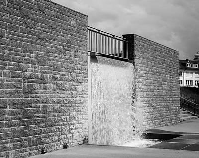 Photograph - Water Feature At Villa Schmidt by Teresa Mucha